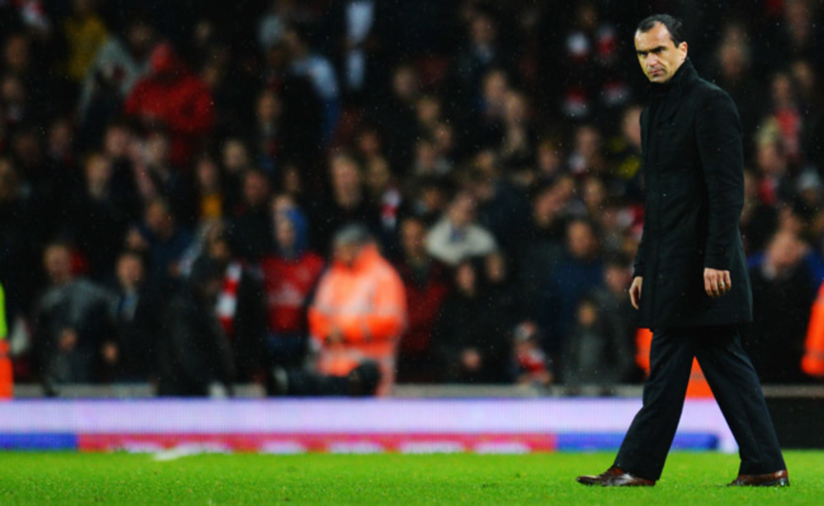 Roberto Martinez's Wigan won the 2013 FA Cup but was relegated from the Premier League days later.