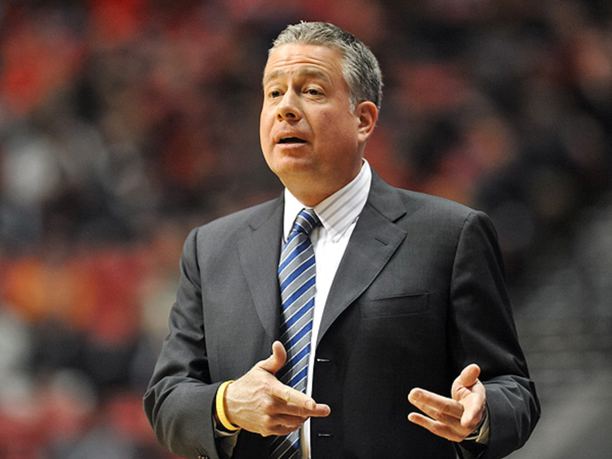 Dave Pilipovich started as an interim head coach for Air Force when Jeff Reynolds was fired in 2012. (Orlando Ramirez/ Icon SMI)