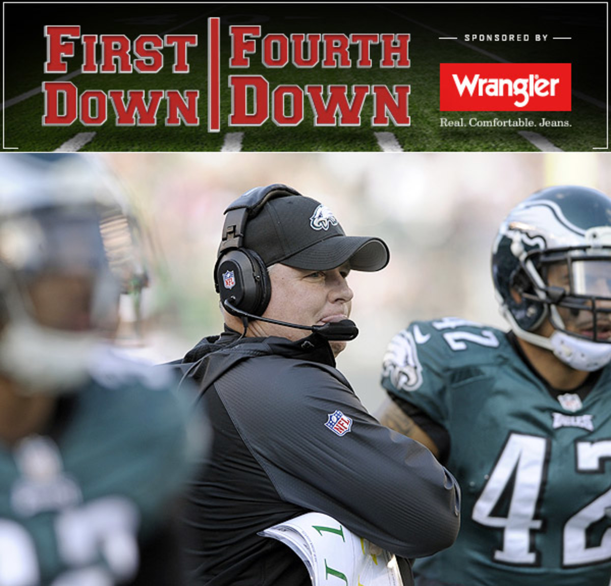 Chip Kelly's Eagles are down but far from out in a middling NFC East.