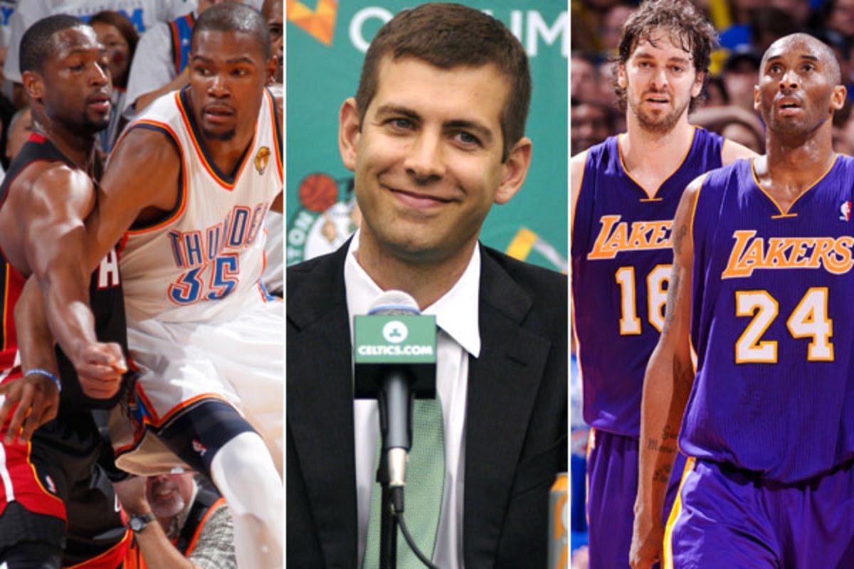 Dwyane Wade, Kevin Durant; Brad Stevens; Paul Gasol, Kobe Bryant