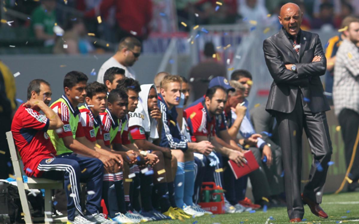 Coach Jose Luis Sanchez Sola and Chivas USA have seen attendance drop during a losing season. (Victor Decolongon/Getty Images)