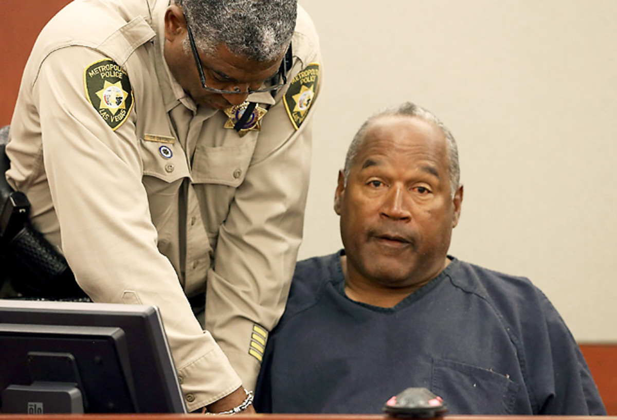 O.J. Simpson, seen here in May 2013, was again denied a bid for a new trial.