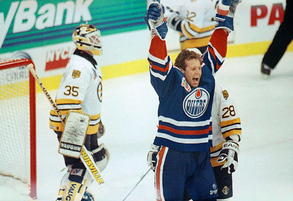 Oilers vs. Bruins
