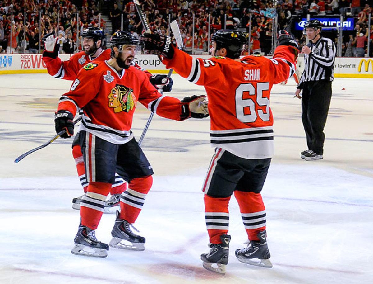 Blackhawks vs. Bruins