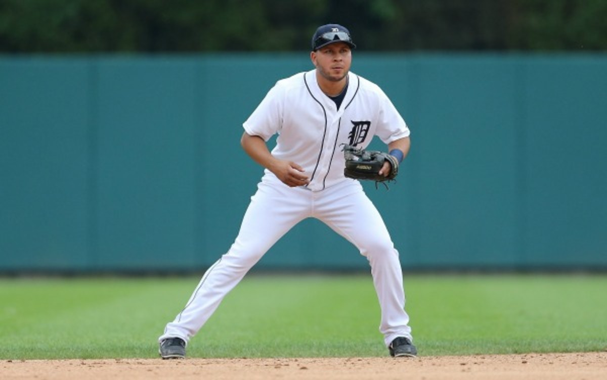 The Tigers plan to play a reinstated Jhonny Peralta in left field. (Leon Halip/Getty Images)