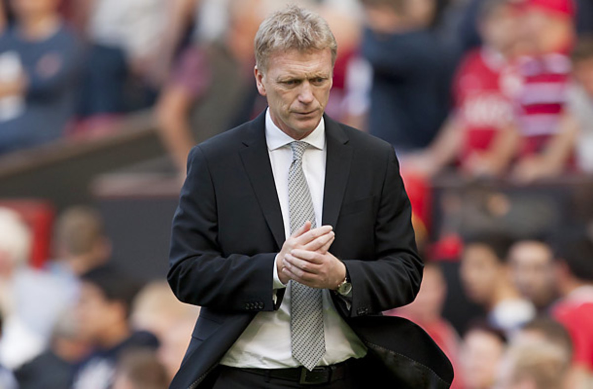 The pressure is on Manchester United manager David Moyes after a sub-par start to the season.