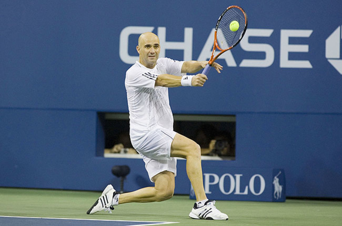 The single-hand backhand has become a historical touchstone of sorts, demarcating an era gone by.