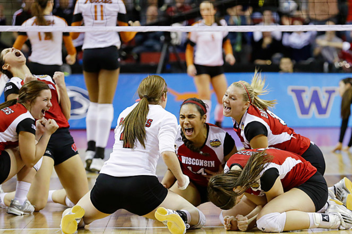 Wisconsin became the lowest seeded team in NCAA volleyball history to reach the championship match.
