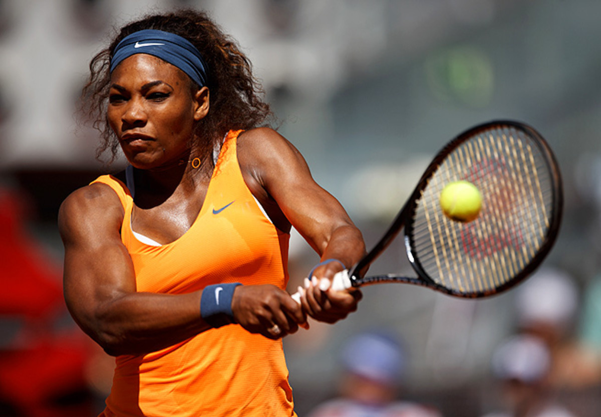 Serena Williams has one of the most powerful two-handed backhands in the women's game.