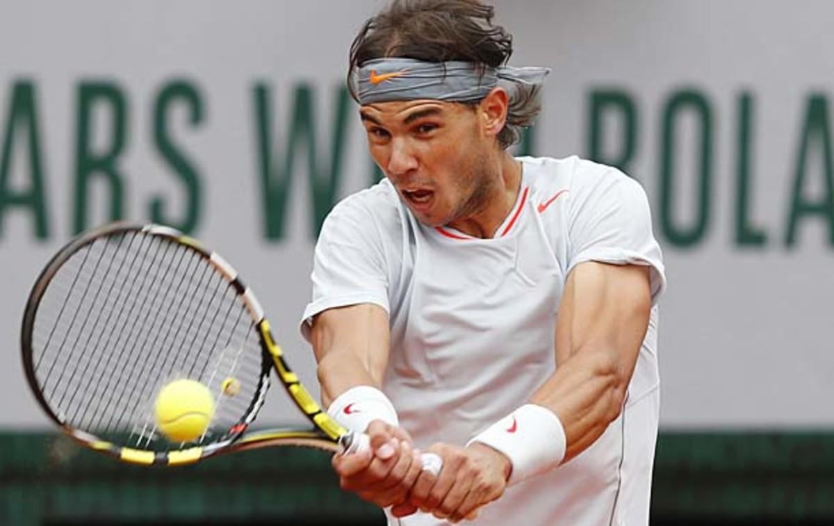 Rafael Nadal is now 60-1 in his career at the French Open. (Petr David Josek/AP)