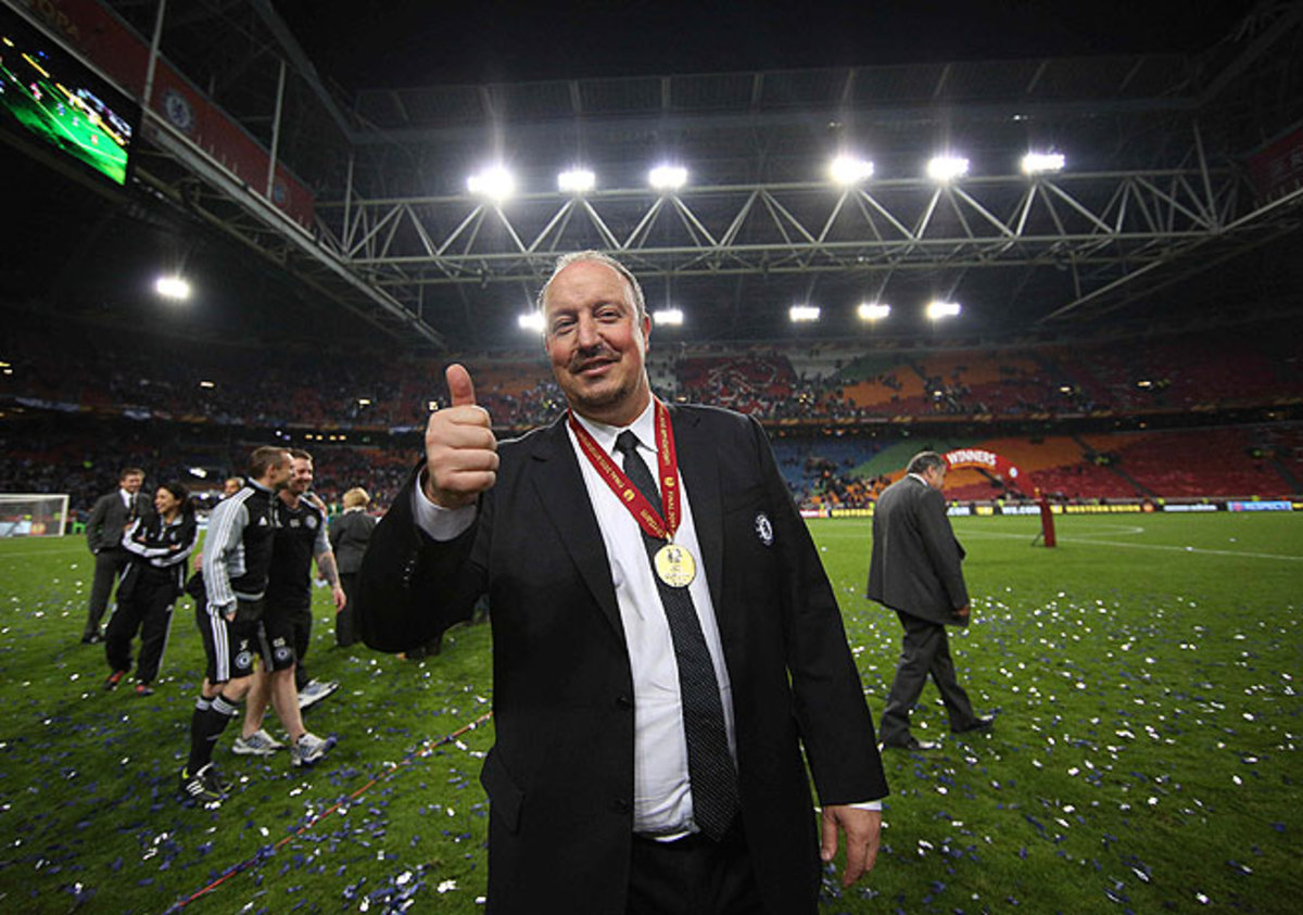 Rafa Benitez may be leaving Chelsea, but he will do so with a Europa League medal around his neck.