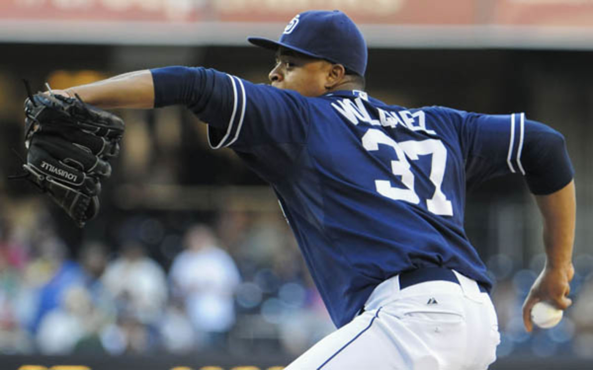 The Dodgers reportedly signed Edinson Volquez to a major league contract. (Denis Poroy/Getty Images)
