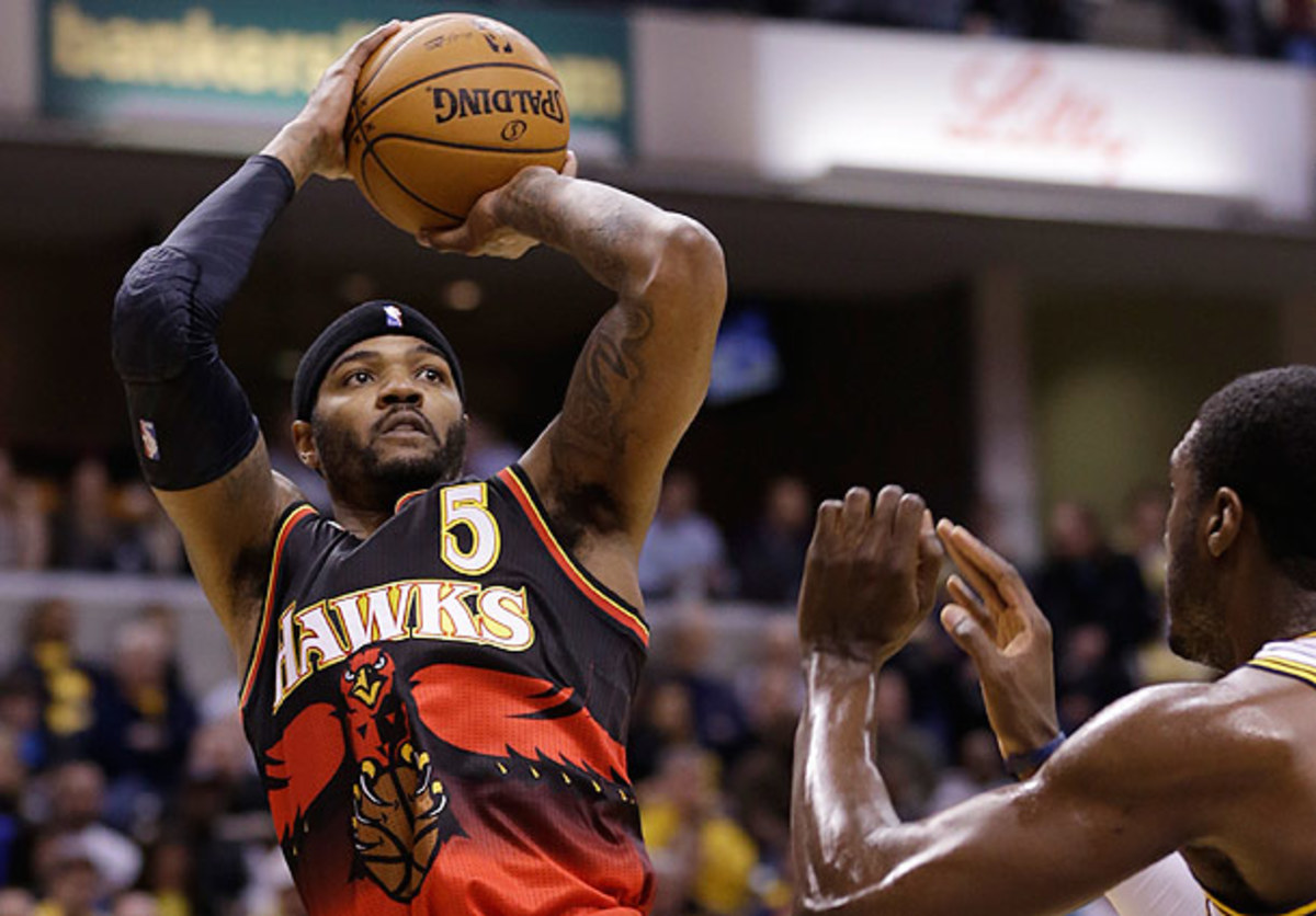 Josh Smith was not traded by the Hawks at the trade deadline