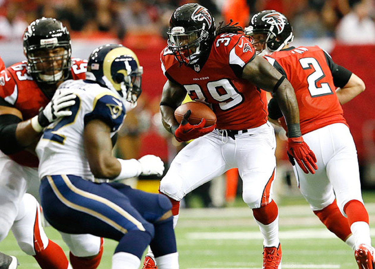 While fantasy owners expected big things from Jackson in Atlanta, his backups have little value.
