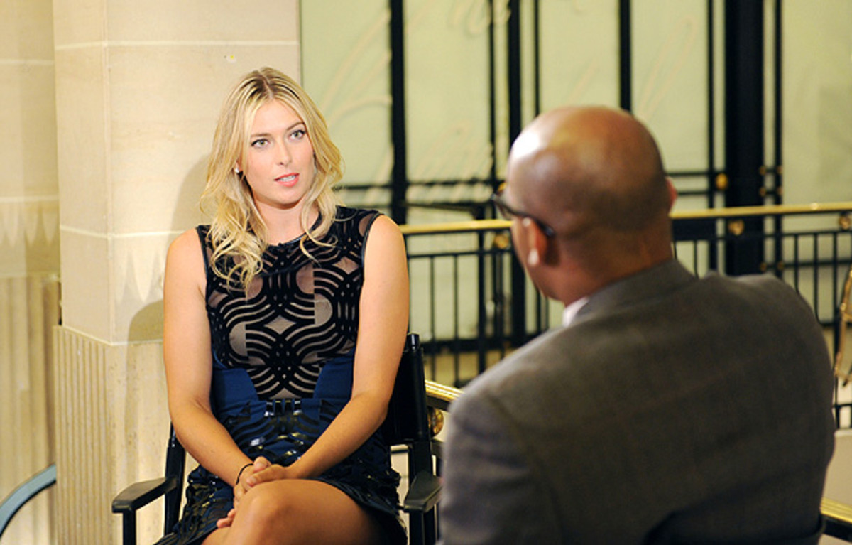 Maria Sharapova hasn't played since the Western & Souther Open in August. (Craig Barritt/Getty Images for Henri Bendel)