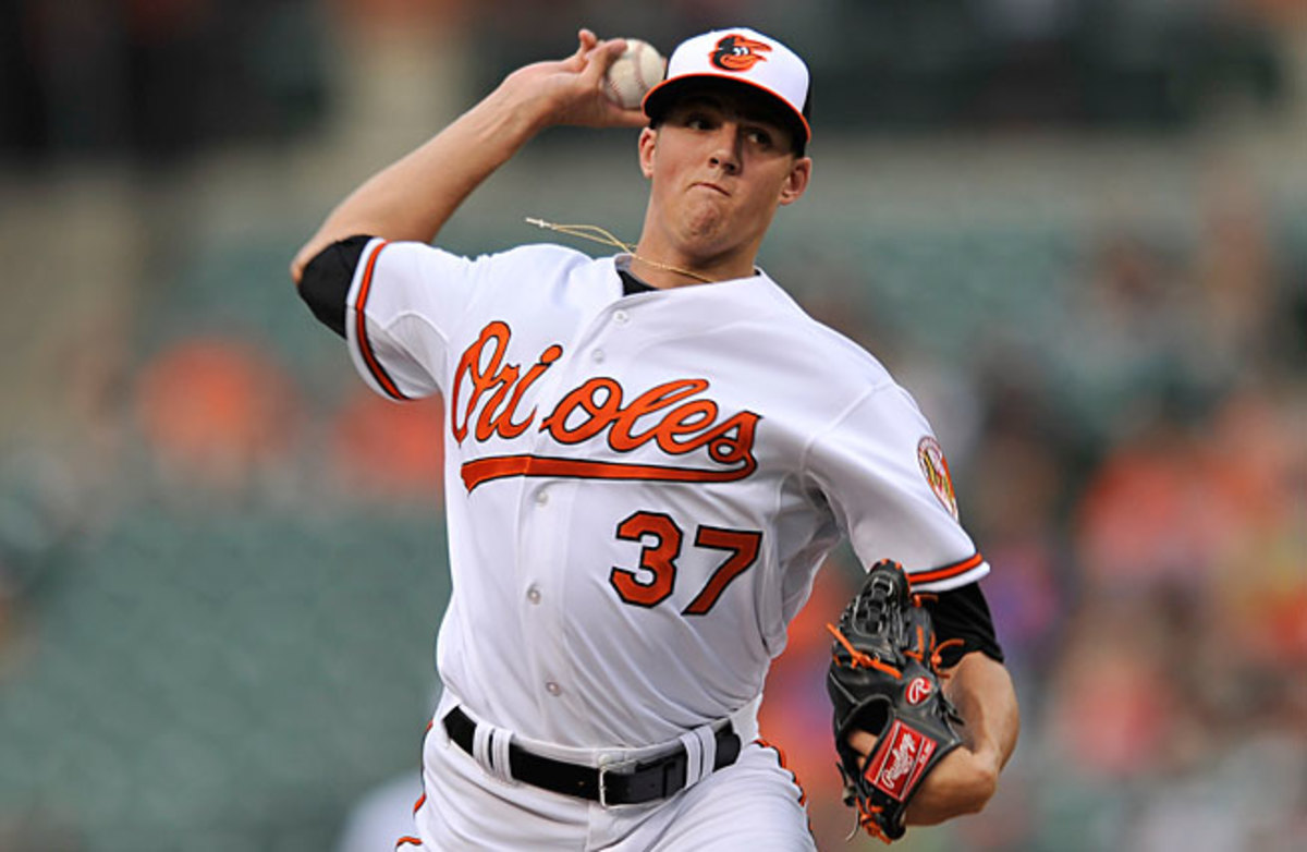 Kevin Gausman just returned to the Orioles from the minors, and he figures to play an important role down the stretch.