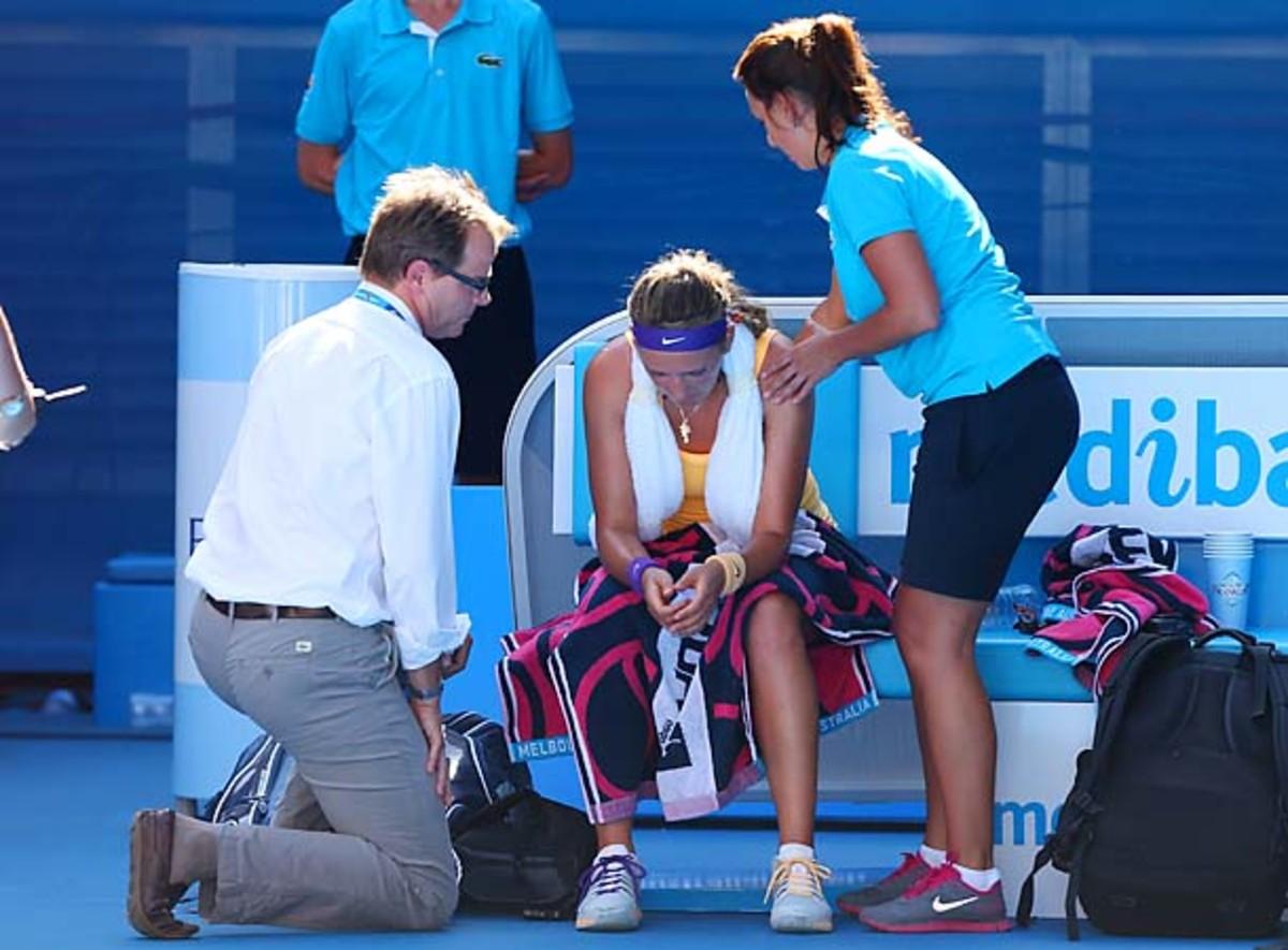 Victoria Azarenka faces Sloane Stephens at Australian Open