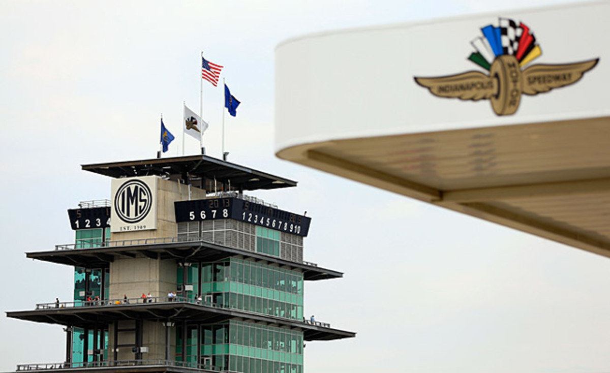 The famed Pagoda at Indianapolis Motor Speedway.