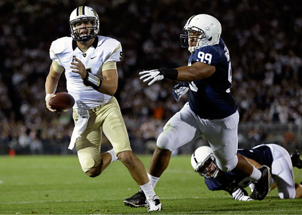 UCF's Blake Bortles, who ranks fifth nationally in passing efficiency, has led the Knights to a 3-0 start.
