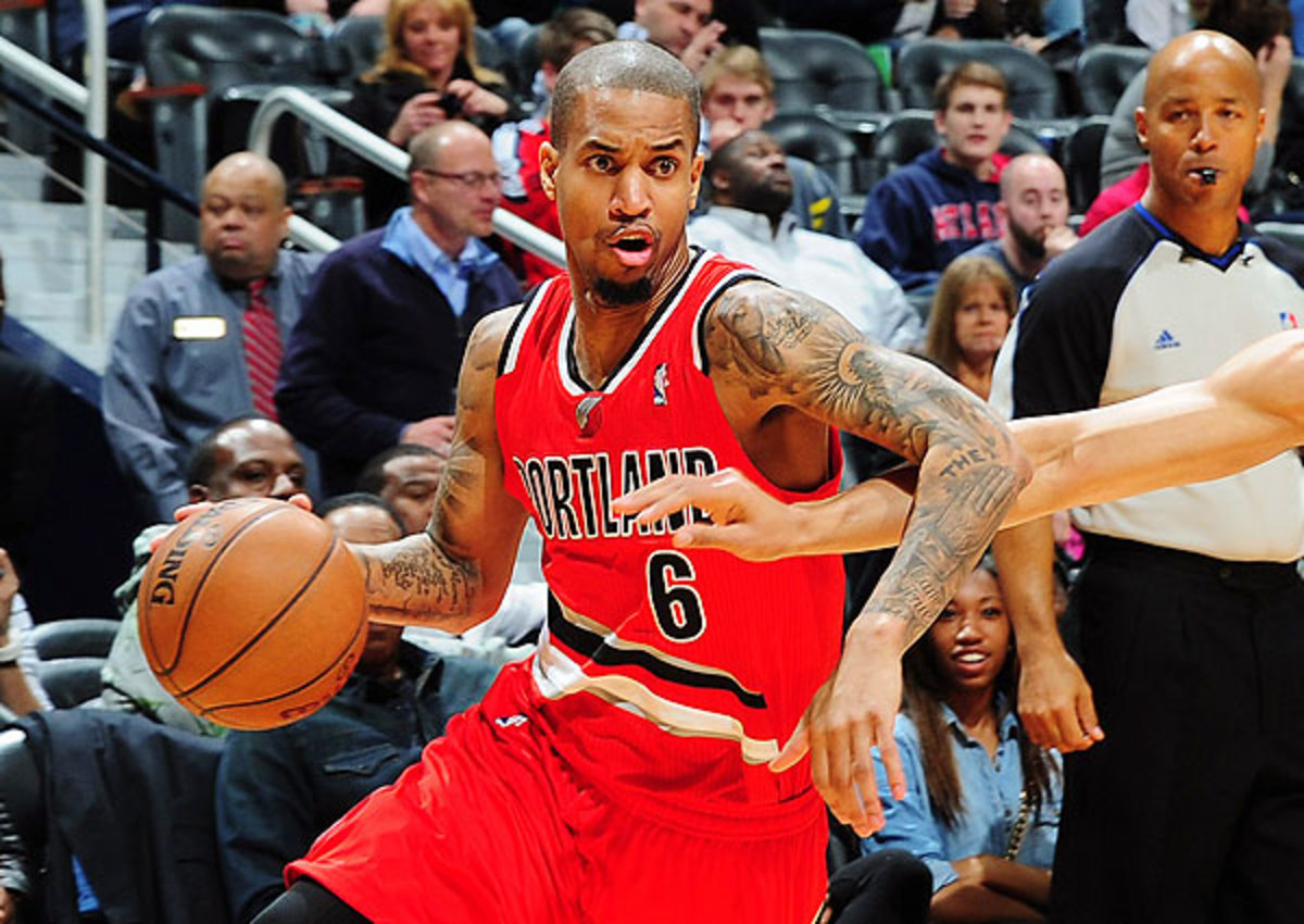 Eric Maynor of the Portland Trail Blazers will be a free agent in the summer of 2013