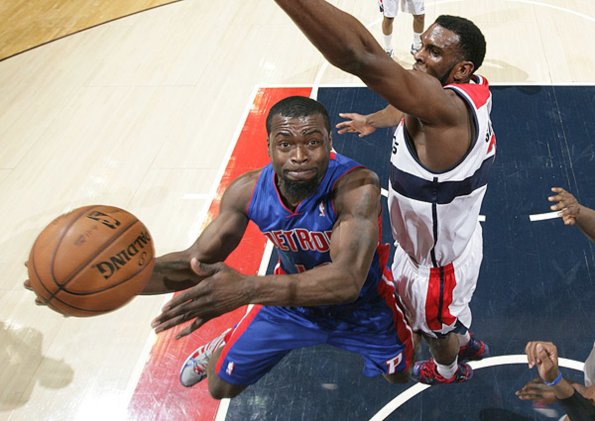 Will Bynum will be a free agent for the Detroit Pistons in the summer of 2013
