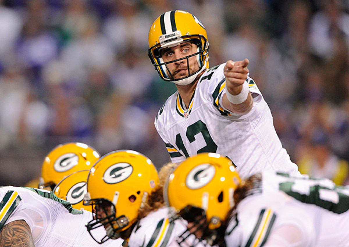 A loss to the Bears and a win by the Panthers would drop the Packers out of the top six.