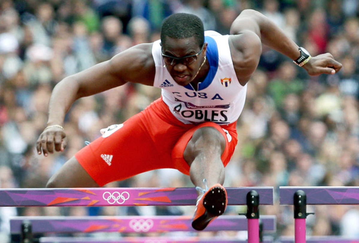 Dayron Robles set the world record in the 110-meter hurdles in 2008 and later won gold in Beijing.