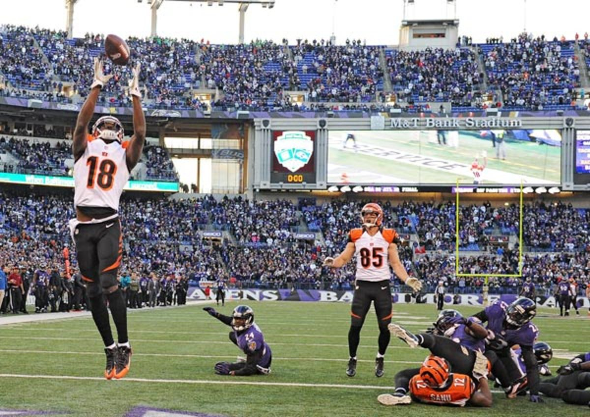 A.J. Green's improbable catch sent the game into overtime.