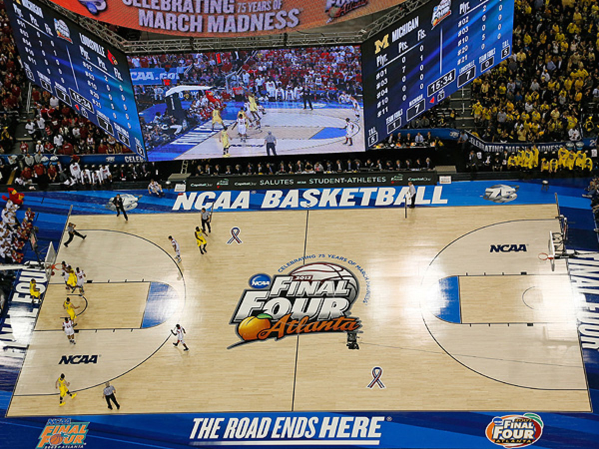 The NCAA announced it has started the process of finding host cities for the 2017-20 Final Fours. (Kevin C. Cox/Getty Images)