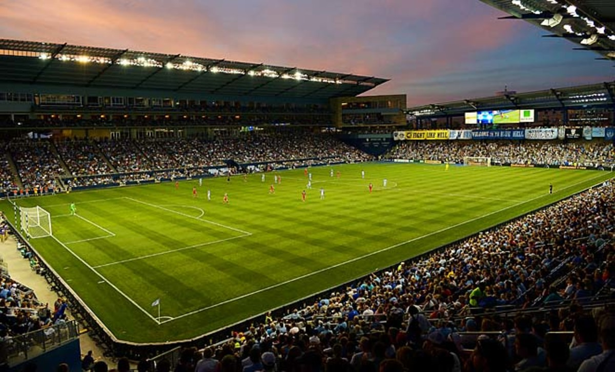 Sporting Park, opened in 2011, is one of the most player-friendly venues in MLS.