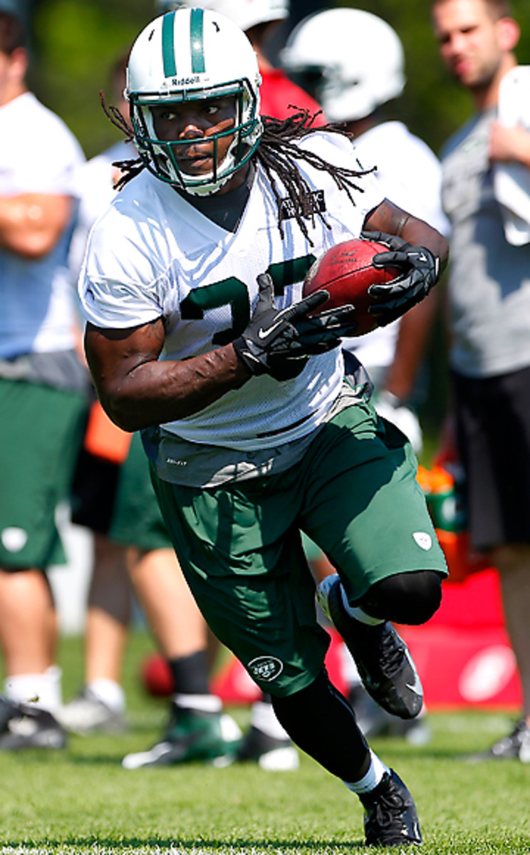 Chris Ivory was brought in to add some needed toughness and explosiveness to the Jets' ground game.