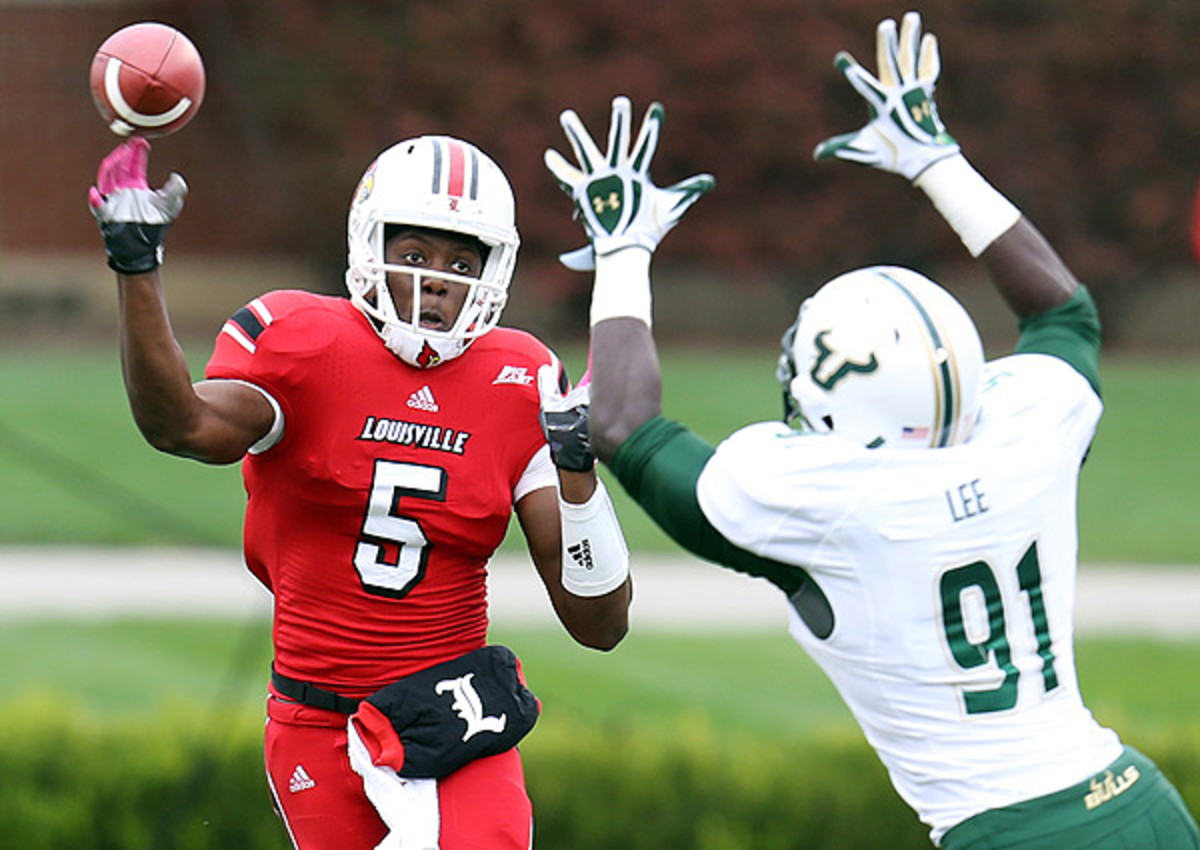 Louisville's Teddy Bridgewater sits second overall on Big Board 1.0.