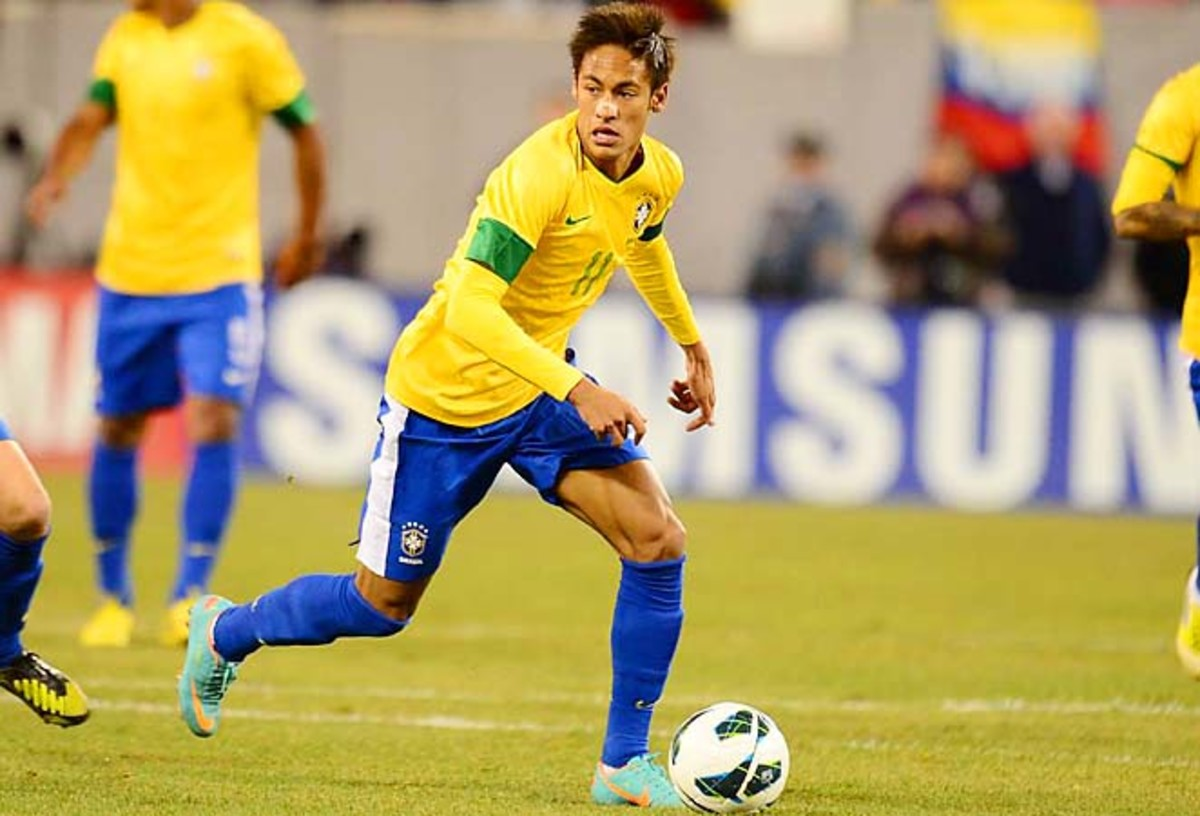 Neymar and Brazil have an automatic spot in the 2014 World Cup as the host country.