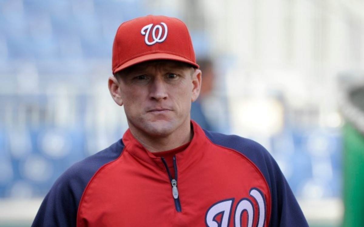 The Washington Nationals fired hitting coach Rick Eckstein. (Diamond Images/Getty Images)