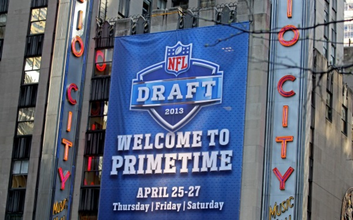The NFL will hold its annual draft in May next year. (Chris Chambers/Getty Images)