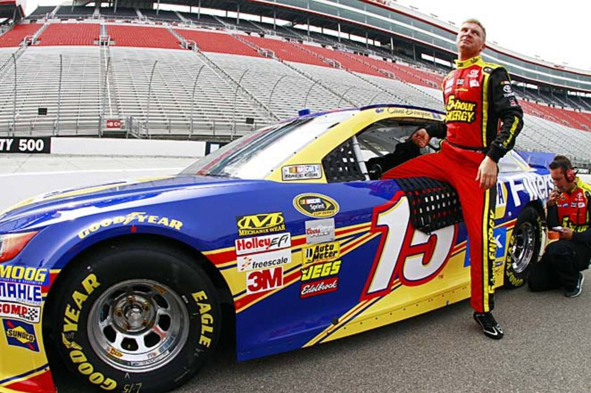 Clint Bowyer currently ranks fourth in the Sprint Cup points standings after four races.