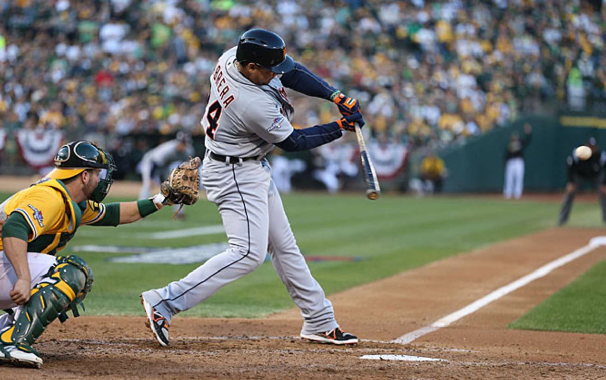 Miguel Cabrera's home run in Game 5 of the ALDS may help him get going in the ALCS.