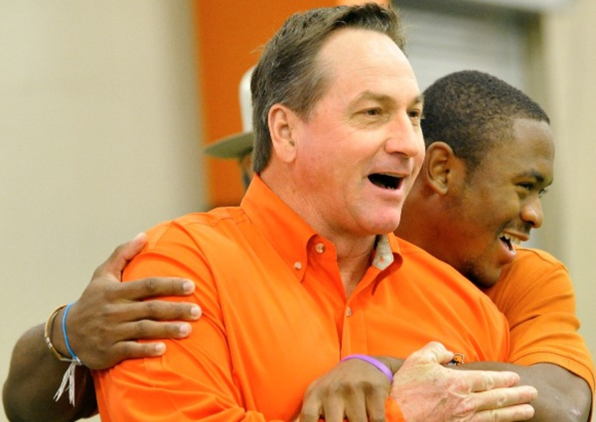 A parent has accused Aledo coach Tim Buchanan of bullying after a 91-0 rout. (Getty Images)