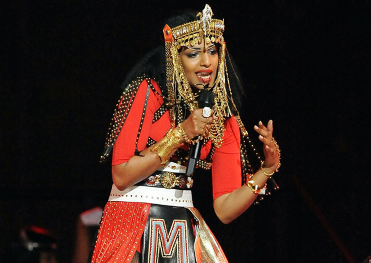 Singer M.I.A. is still making news years after her controversial Super Bowl performance.