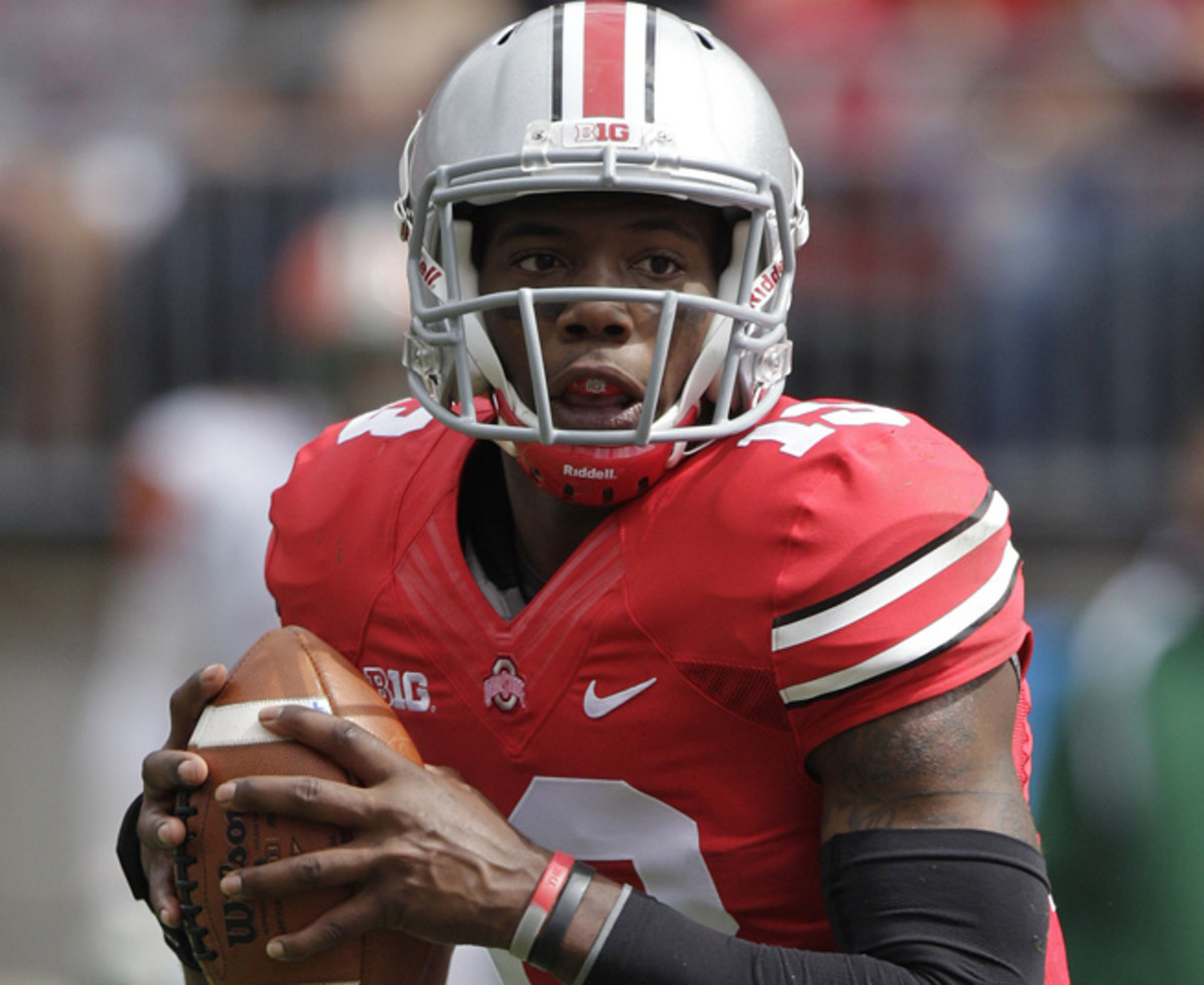 Kenny Guiton will return to the bench as Braxton Miller is now the starter for Ohio State.