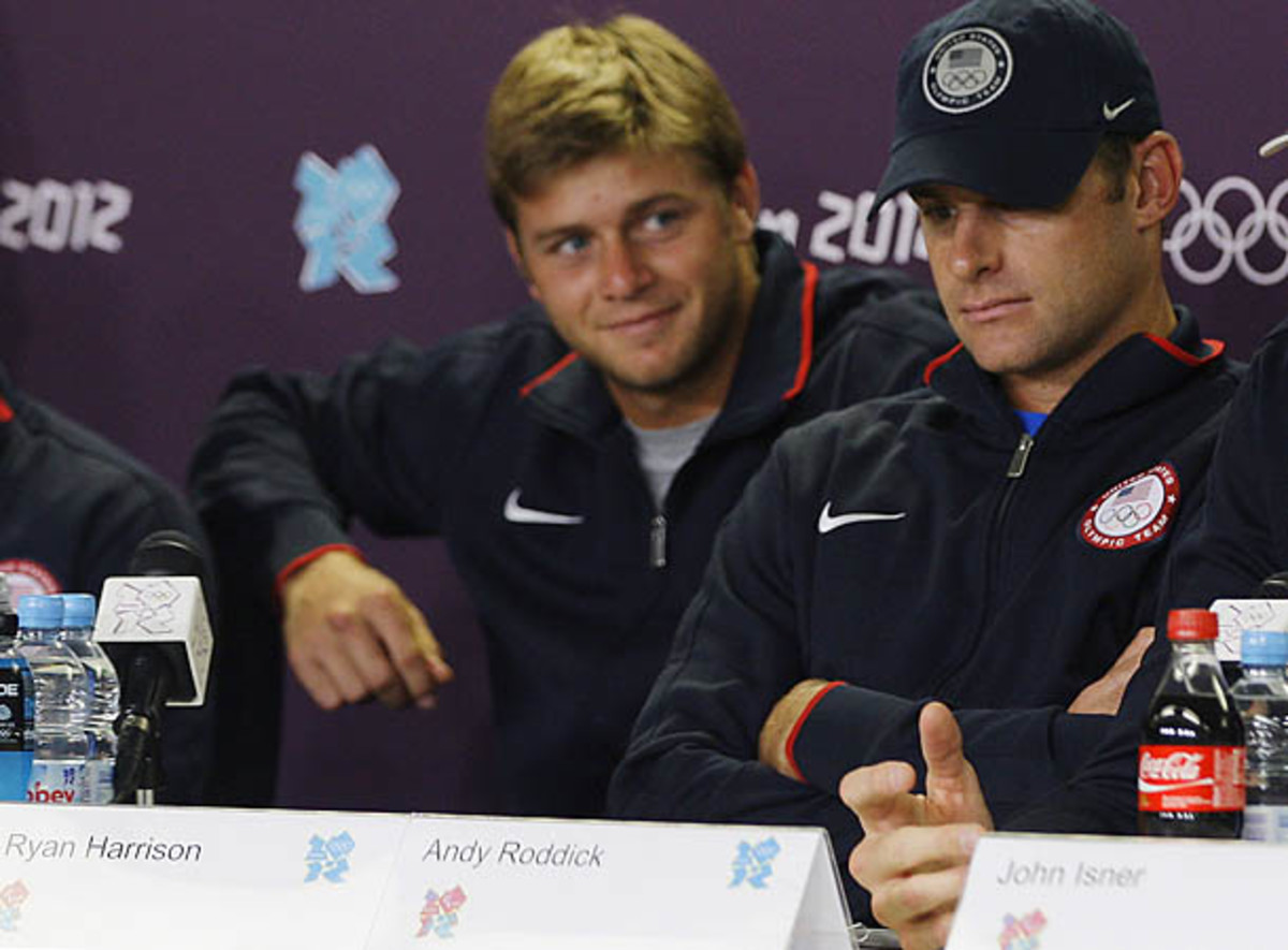 Ryan Harrison, Andy Roddick