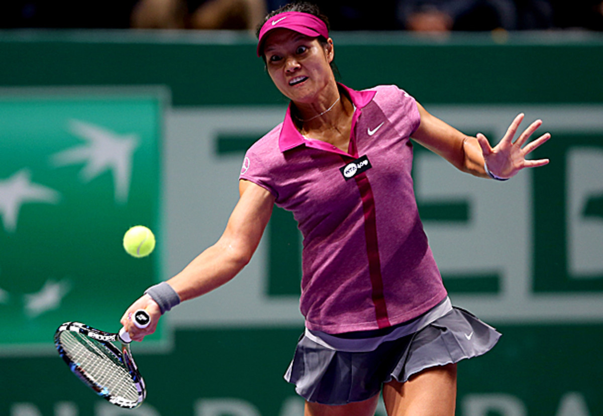 Li Na finished the year a career-high No. 3, and reached the finals of the WTA Tour Championships. (Matthew Stockman/Getty Images)
