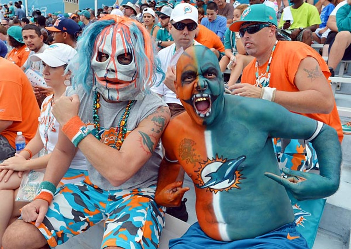 Dolphins fans