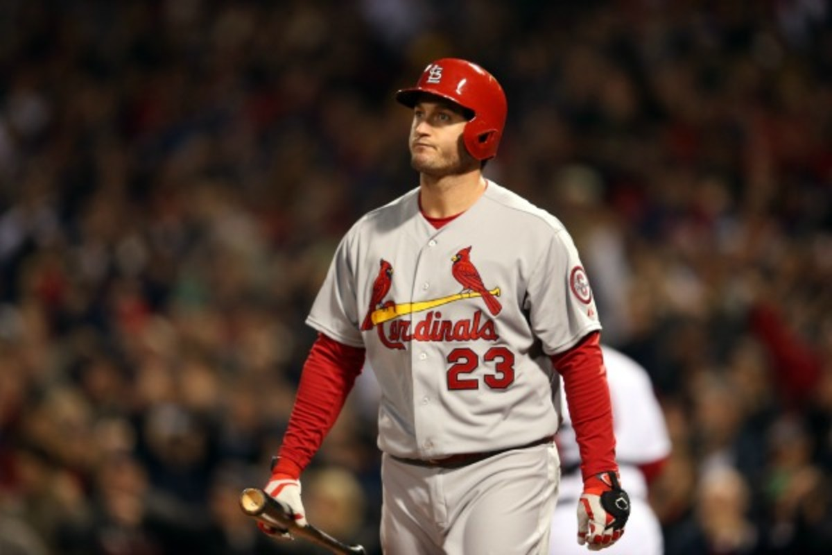 David Freese hit a career-low .262 last season. (Rob Carr/Getty Images)
