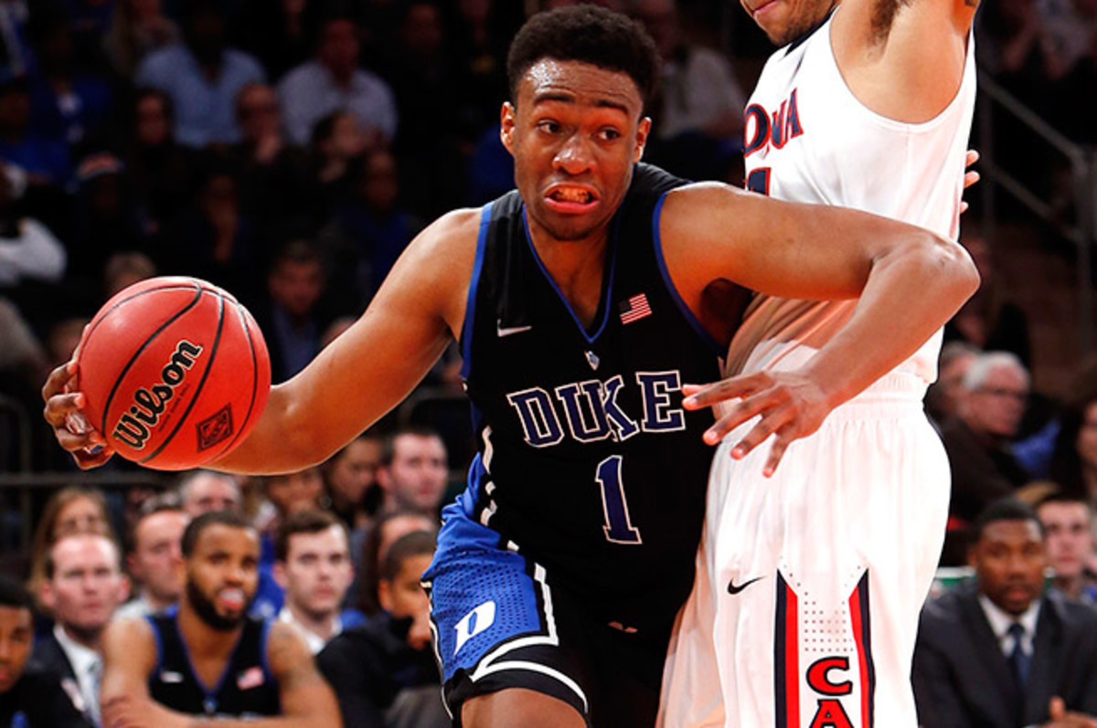 Jabari Parker's diverse offensive skillset makes him an attractive prospect and potential No. 1 pick.