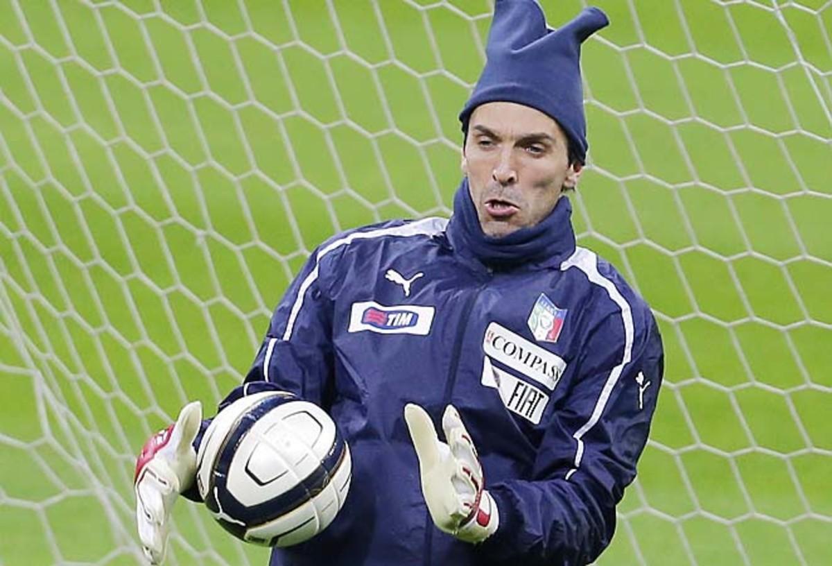 Gianluigi Buffon has made more than 300 appearances with Juventus since 2001.