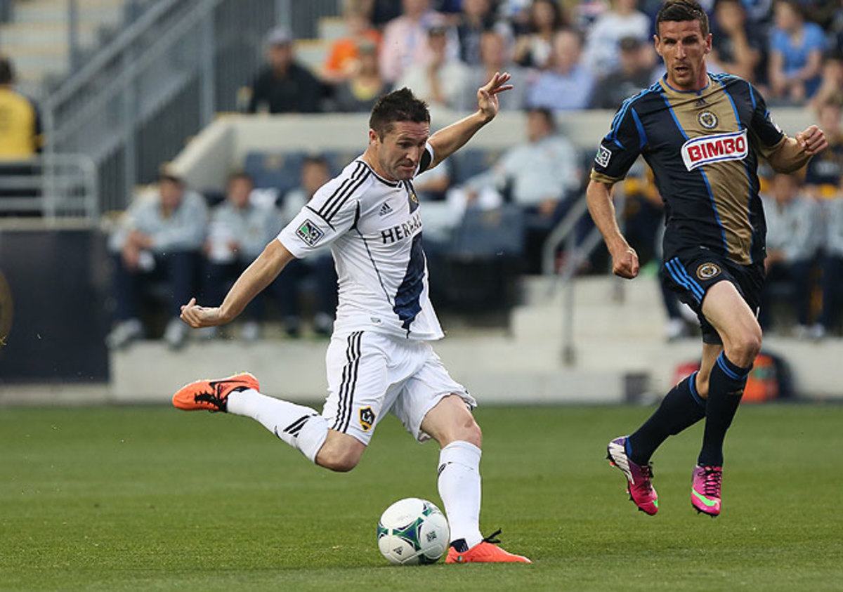Ireland captain Robbie Keane (left) is in his third season with the Los Angeles Galaxy.