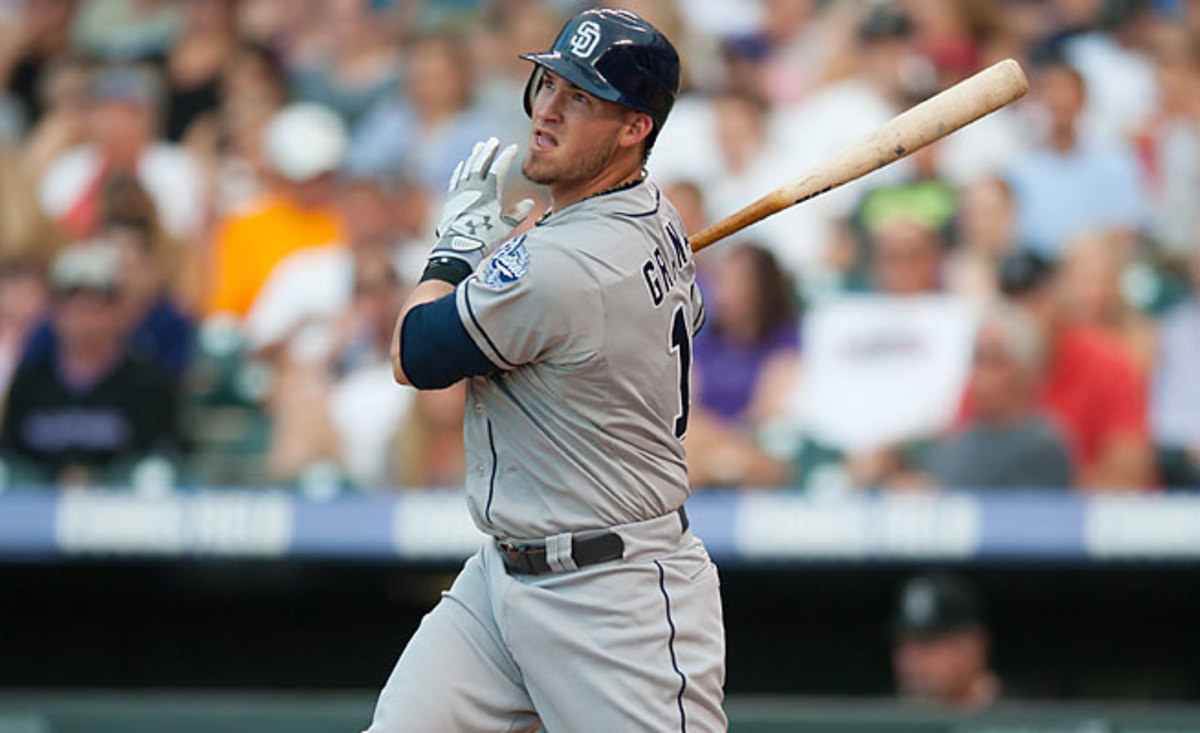 Yasmani Grandal hit eight home runs in 60 games after being called up in 2012.