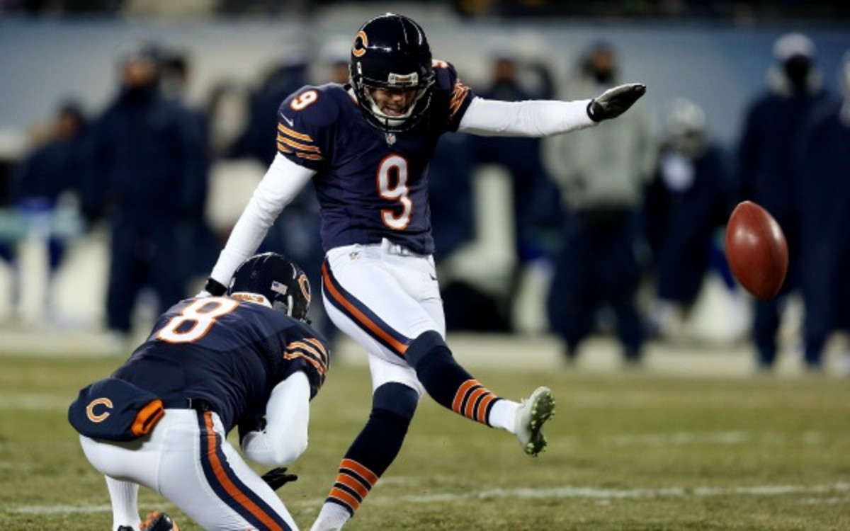 The Chicago Bears have extended Robbie Gould through 2017. (Jonathan Daniel/Getty  Images)