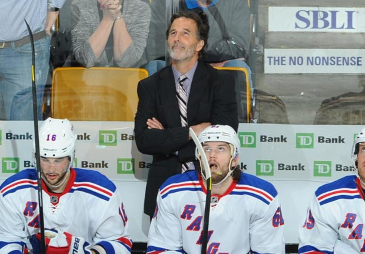 The Rangers fired head coach John Tortorella on Wednesday. (NHLI/Getty Images)